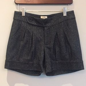 Dressy cuffed shorts with pockets - Small